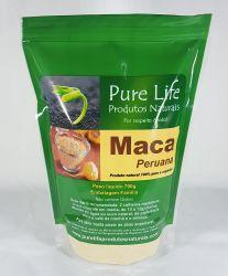 MACA PERUANA - 700g (Em pó 100% pura, orgânica e com laudo laboratorial)  EMBALAGEM STAMDUP