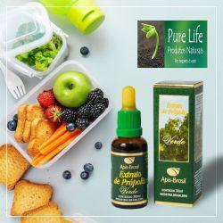Extrato de própolis verde (17%) 30ml (Excelente produto novo na Pure Life!)