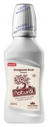 Enxaguante bucal com extratos de Café, Cacau e Guaraná 250mL